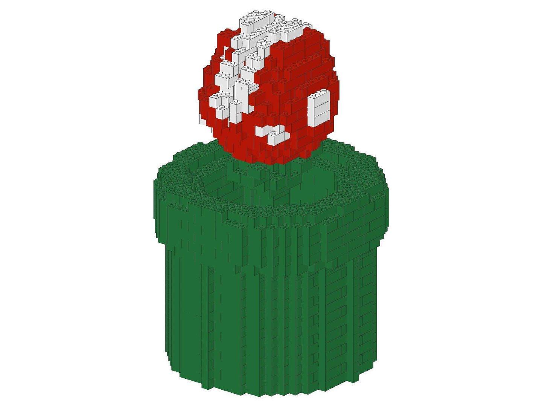 Fleischfressende Pflanze Mario