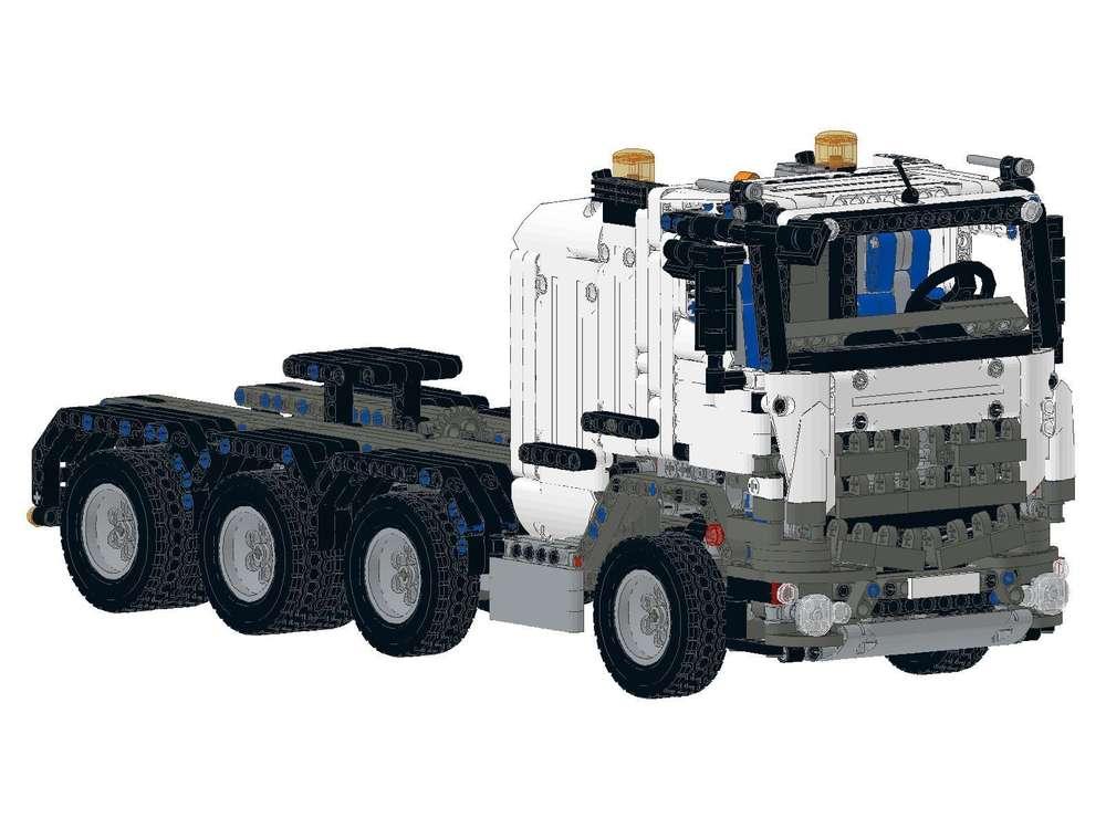Truck SLT Mercedes Zugmaschine Anleitung