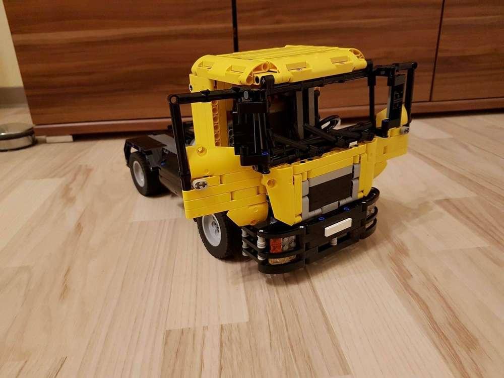 Truck Man 2 Achsen Anleitung Webshop Von Bauanleitungenmartin