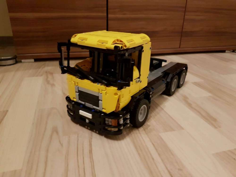 Truck Man 3 Achsen Anleitung Webshop Von Bauanleitungenmartin