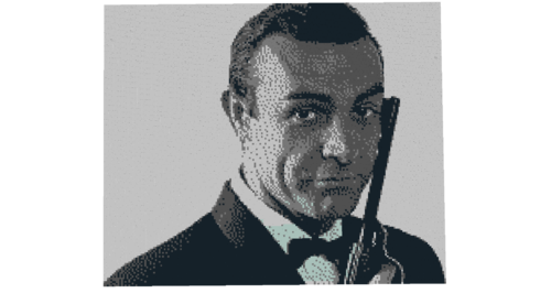 James Bond 007 Mosaik