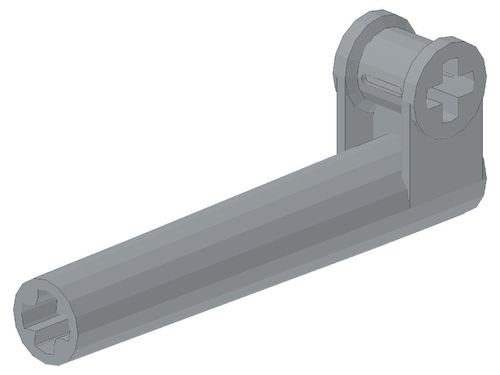 Technic, Axle and Pin Connector Perpendicular with Extension 53586