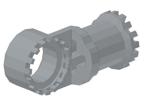 Technic, Axle and Pin Connector Toggle Joint Toothed 4273