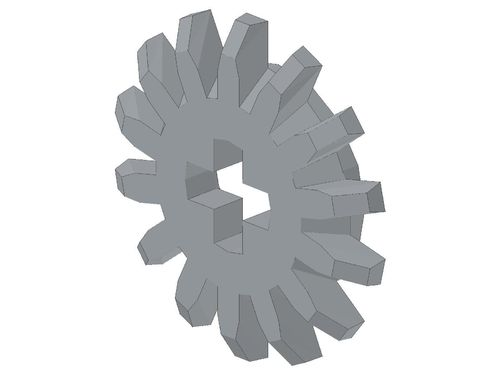 Technic, Gear 14 Tooth Bevel 4143