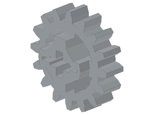 Technic, Gear 16 Tooth (New Style Reinforced) 94925