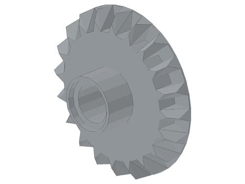 Technic, Gear 20 Tooth Bevel with Pin Hole 87407