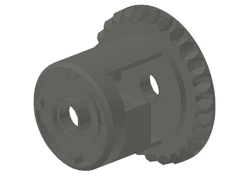 Technic, Gear Differential with Inner Tabs and Closed Center, 28 Bevel Teeth 62821b