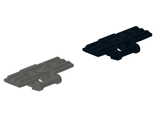 Technic, Link Tread Wide with Two Pin Holes 57518