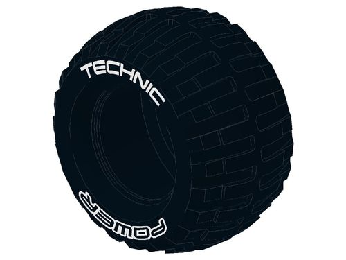 Tire Technic Power Puller with 'TECHNIC POWER' White Pattern 32298pb01